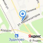Алёнка на карте Барнаула