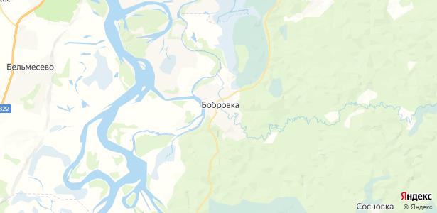 Бобровка на карте