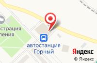 Схема проезда до компании Отдел сувениров в Горном