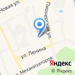 Первомайская детская музыкальная школа №2 на карте Барнаула