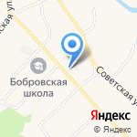 Аметист на карте Барнаула
