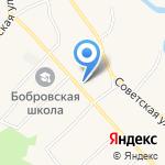 Новоалтайские межрайонные электрические сети на карте Барнаула