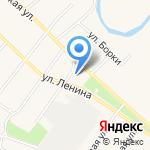 Антон на карте Барнаула