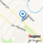 Людмила на карте Барнаула