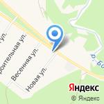 Бобровское лесничество на карте Барнаула