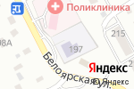 Схема проезда до компании Дюймовочка в Новоалтайске