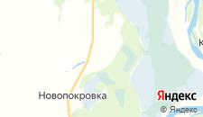 Отели города Сафроновка на карте