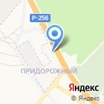 Атон на карте Барнаула