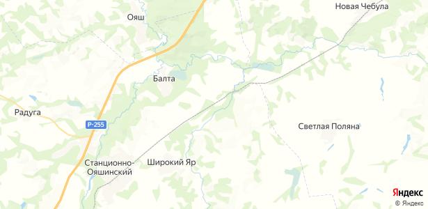 Кубово на карте