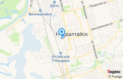 Местоположение на карте пункта техосмотра по адресу Алтайский край, г Новоалтайск, ул Строительная, д 25Г