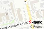 Схема проезда до компании Mobil1 Центр Автолюкс в Новоалтайске
