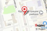 Схема проезда до компании Алтайзапчасть в Новоалтайске