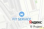 Схема проезда до компании АвтоБлеск в Новоалтайске