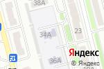 Схема проезда до компании Учебный центр железнодорожников в Новоалтайске