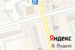 Схема проезда до компании Радуга в Новоалтайске