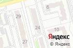 Схема проезда до компании Кенгу 24 в Новоалтайске