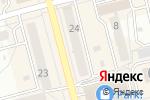 Схема проезда до компании Мулатка в Новоалтайске
