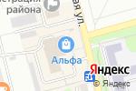 Схема проезда до компании La`Fler в Новоалтайске