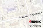 Схема проезда до компании Планета в Новоалтайске