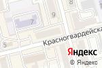 Схема проезда до компании 9 Карат в Новоалтайске