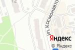 Схема проезда до компании Космос, ТСЖ в Новоалтайске