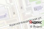 Схема проезда до компании Жаркое в Новоалтайске