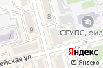 Схема проезда до компании СДЭК в Новоалтайске