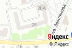 Схема проезда до компании Евростиль в Новоалтайске