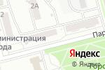 Схема проезда до компании ЭВТ в Новоалтайске