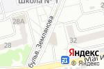 Схема проезда до компании ПЯТНИЦА в Новоалтайске