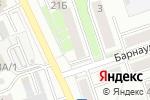 Схема проезда до компании Мини-типография в Новоалтайске