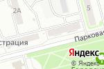 Схема проезда до компании АКТО в Новоалтайске