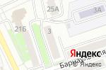Схема проезда до компании Бархан в Новоалтайске