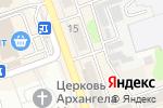 Схема проезда до компании Ассистент в Новоалтайске