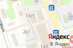 Схема проезда до компании Лотус в Новоалтайске