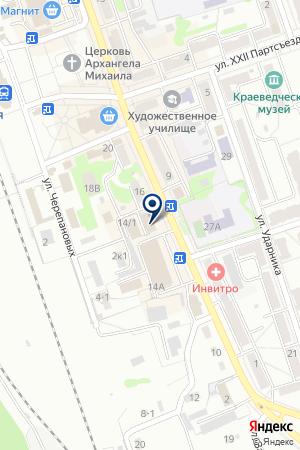Нотариус Олейникова Н.И. на карте Новоалтайска