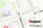 Схема проезда до компании Красотка+ в Новоалтайске