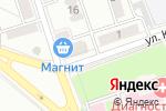 Схема проезда до компании Белый замок в Новоалтайске