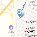 Фирсова Слобода-3 на карте Барнаула