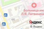 Схема проезда до компании Благострой в Новоалтайске