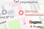 Схема проезда до компании Детская поликлиника в Новоалтайске
