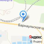 Октан на карте Барнаула