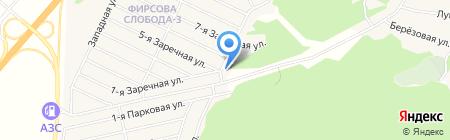 Фирсова Слобода-3 на карте Фирсово