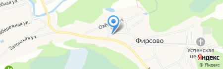 Отделение почтовой связи на карте Фирсово