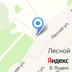 Lesnoy Village на карте Барнаула
