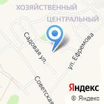Санниковская средняя общеобразовательная школа на карте Барнаула