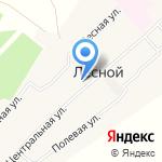 Лесная основная общеобразовательная школа на карте Барнаула