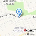 Николаев П.Б. на карте Барнаула
