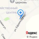 Авоська на карте Барнаула