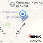 Участковый пункт полиции пос. Санниково на карте Барнаула